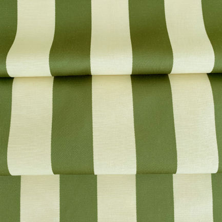 Royal Stripe Leaf - Cotton/Polyester