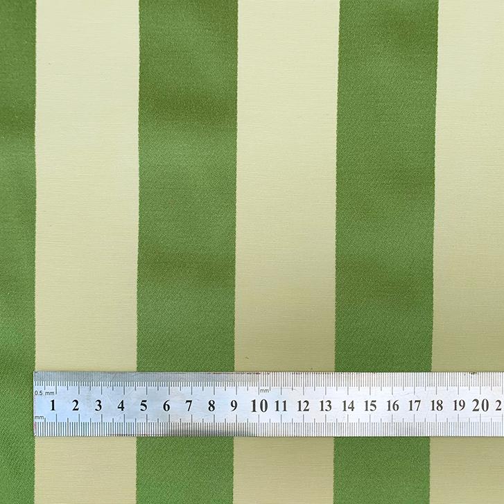 Royal Stripe Leaf - Cotton/Polyester