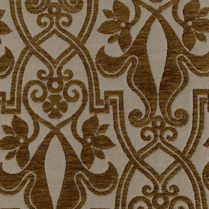 Cinnamon Brocade - 100% Wool