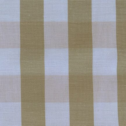 Caramel Checks - Polyester/Cotton