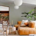 Orange interiors