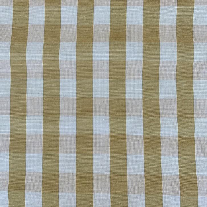 Caramel Checks - Polyester/Cotton