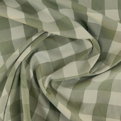 eucalyptus check - cotton