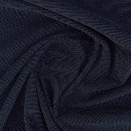 Midnight Blue - Cotton Chenille