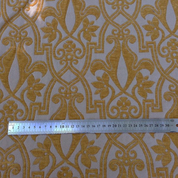 Gothic Gold Brocade - 100% Wool