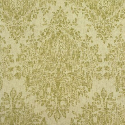 Lime Damask - Spanish Cotton
